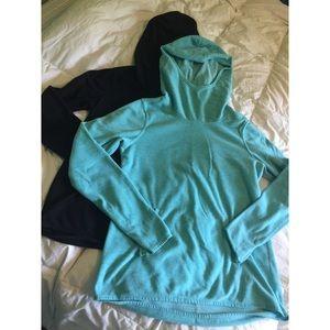 Bundle of (2) fleece hoodies